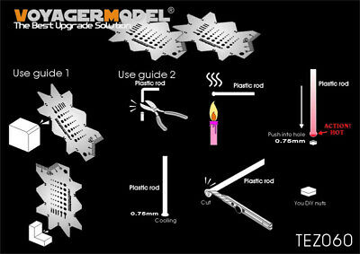 Voyager Models Hing Tool for all, 1pc Short