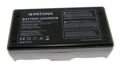 Caricabatteria Doppio Patona per Canon LP-E4,LP-E4N,LPE4,LPE4N,BA-T10,BA-T20