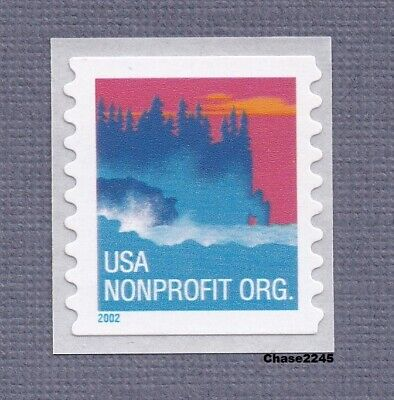 Scott #3693 Sea Coast Nonprofit Org (SA Coil Single) 2002 Mint NH Single 2