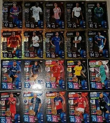 Match Attax Champions League 19 20 limited edition LE15 Sane Club Hero   select 5