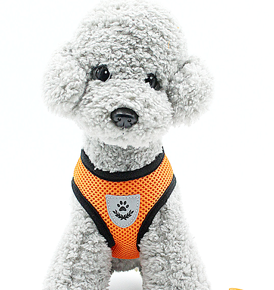 Pet Puppy Harness Breathable Mesh Safety Vest Chest Strap For Small Dogs Puppies 6