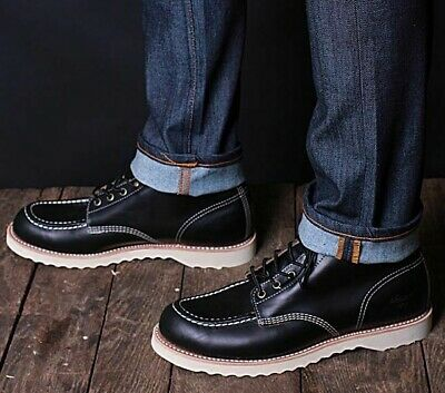 7cae64094eb THOROGOOD 1892 JANESVILLE Black Horween Cxl Leather Boots 814-6781 [Made In  Usa]