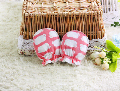 10Pairs Newborn Boy Girl Infant Soft Cotton Handguard Anti Scratch Mitten Gloves 7