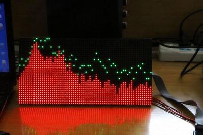MS3264 LED Music Audio Spectrum Level Display Screen Indicator VU Meter 6 Modes 2