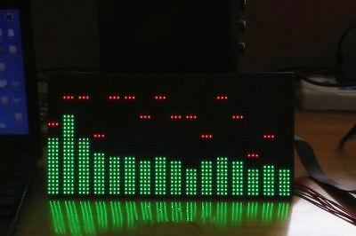 MS3264 LED Music Audio Spectrum Level Display Screen Indicator VU Meter 6 Modes 6
