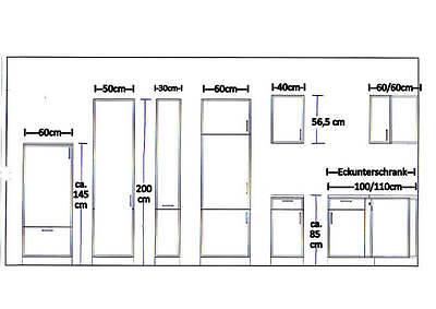 Hochschrank küche ausziehbar  APOTHEKERSCHRANK MANKAPORTABLE HOCHSCHRANK Buche BxT 30/200cm ...