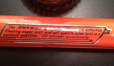 VTG Bug SPRA-WELL HAND PUMP SPRAYER AMBER GLASS WOOD Montclair, NJ *BOGO All Tin 11