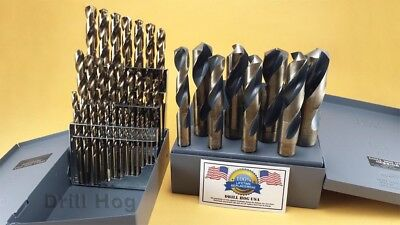 "Drill Hog USA 37 Pc Cobalt Drill Bit Set Index M42 1/16"" - 1"" Lifetime Warranty 4"