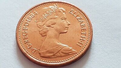 United Kingdom UK Half Penny Coin 1/2p 1984 - Brilliant Uncirculated FREE POST 3
