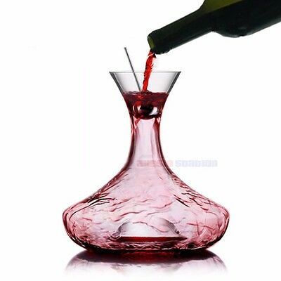 Duvino Airo Decanter, Crystal Red Wine Decanter, Aussie Station - Free Shipping!