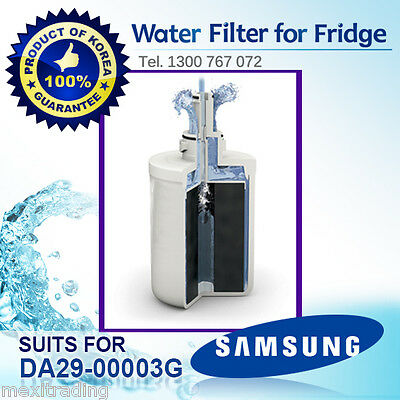 2X REPLACEMENT FILTERS FOR SRS606DHLS ICE AND WATER FILTER SAMSUNG DA29-00003G