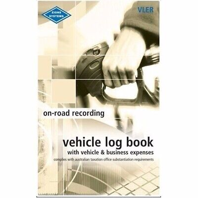 1 x Zions Pocket Vehicle Expense Book 64P ATO Compliant VLER 5