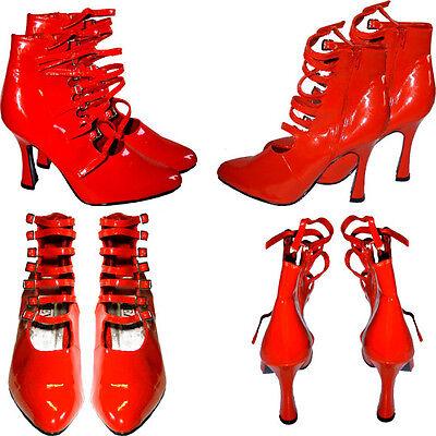 Latex Handschuhe schwarz mit roten extremo Krallen Sonderanfertigung x-large 10