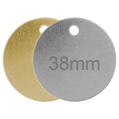 Engraved Dog Tag Personalised Round Bone Id Name Disc Large Small Pet Cat Tags 7
