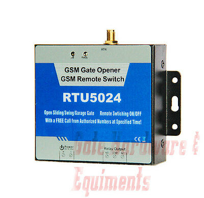 RT5024 GSM RELAY Control Door Access for Gate Opener, BFT, FAAC, GTO Mighty  Mule