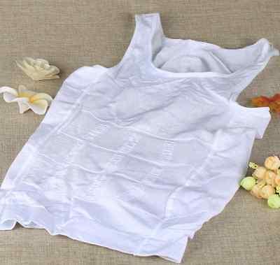 Men Body Slimming Tummy Shaper Belly Underwear shapewear Waist Girdle Shirt Vest 2
