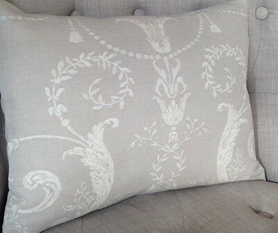 "Laura Ashley Designer Cushion Cover /""JOSETTE/"" Dove Grey Fabric Various Sizes"