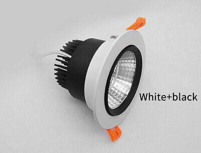 3W 5W 7W 9W 12W 15W 20W COB LED Recessed Ceiling Downlight Spot Light Bulb Kits 5