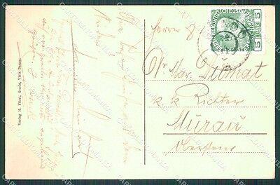 Gorizia Grado Maurizio Furst postcard KF1186