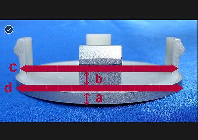 4x Nabenkappen Nabendeckel Felgendeckel 61,5 mm  47,5 mm für Land Rover  5903