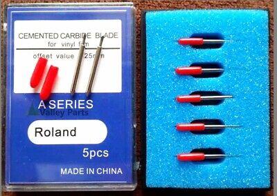 1Pc Roland Blade Holder+ 5Pcs Roland Cutting Blade 45Degree Roland Cutter Blade 3