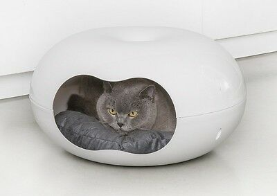 PANIER COUFFIN POUR CHAT/COUSSIN CHAT/DOME POUR CHAT DOONUT Réf AS97413DOO