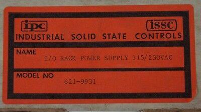 Nib Ipc Issc 621-9931 I/O Rack Power Supply 115/230Vac, 6219931 5