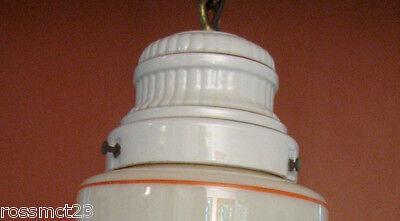 Vintage Lighting four 1930s Porcelier lights incl. pair sconces   Kitchen Bath 4