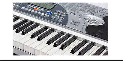 Piano Combo Stand + 61 Keys Electronic keyboard/Electric Piano/Power Adaptor 4
