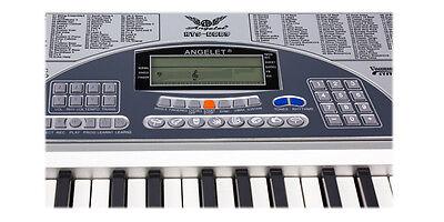 Piano Combo Stand + 61 Keys Electronic keyboard/Electric Piano/Power Adaptor 3