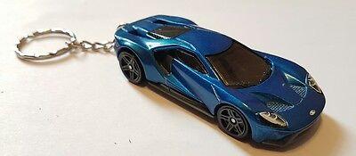 Hotwheels  Ford Gt Keyringcast Car