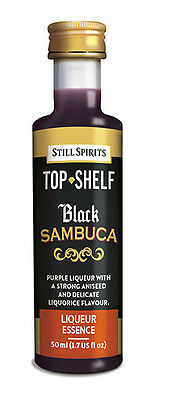 Still Spirits Top Shelf Liqueur Essences BLACK SAMBUCA x1 2