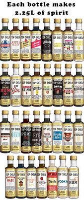 Still Spirits Top Shelf Spirit Essences Any 10 Of Choice Home Brew Spirit Making 4