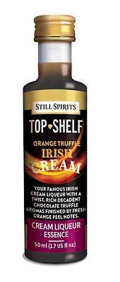 Still Spirits Top Shelf Orange Truffle Irish Cream and Liqueur Base Pack 2