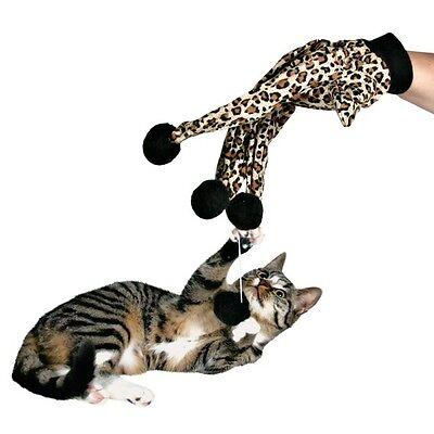 New Kitten Cat Glove Teaser Play Toy For Cats Kittens 2