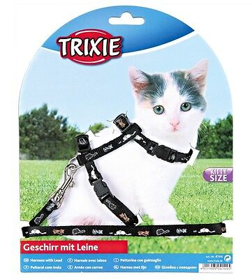 Harness and Lead Set For Kittens Sm Cats Collar TRIXIE 4144 3 • EUR 6,57