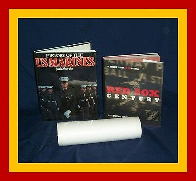 """5 Yard 12"""" Brodart Fold-On Book Jacket Covers ARCHIVAL -- Clear Polyester Mylar 6"""