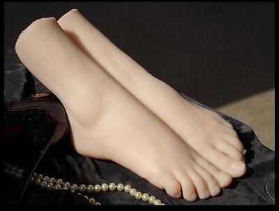 Simulation Of Girls Ballerina Dancer Gymnast Foot Silicone Feet Model Mannequin 11