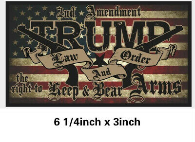 10 pcs Set Donald Trump Bumper Stickers 2020 Keep America Great Train Sticker 10