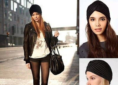 Ladies Stretch Headcover Head Wrap Beanie Chemo Bandana Animal Print Hat Turban 7