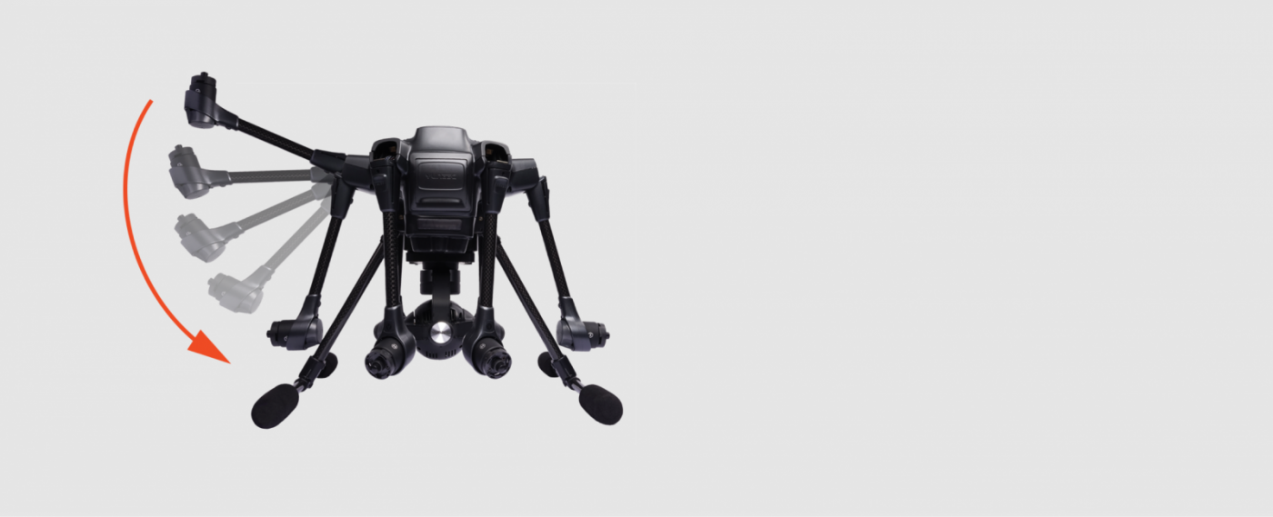 YUNEECTyphoon H Hexacopter with CGO3+ 4K Camera. 3