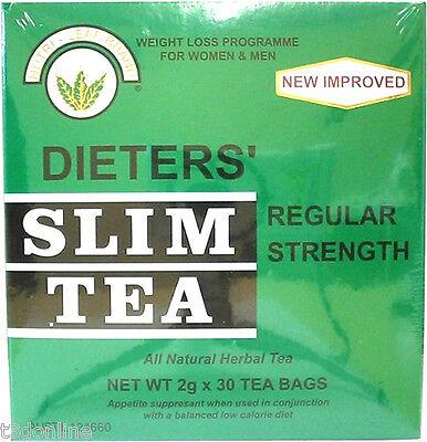 4 x 30 Tea Bag(120 bags)NUTRI LEAF Dieters Slim Tea Weight Loss Regular Strength 2