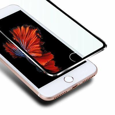 Pellicola Vetro Temperato Per Apple Iphone 6 6S 7 8 3D Bordo Curvo In Alluminio 2