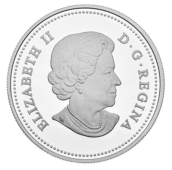1 oz. Fine Silver Coin – Venetian Glass Angel (2016) No. 147315 4