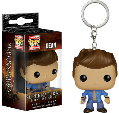 DC Marvel Keyring Groot/Rick/Morty/Dean/Goku Figure Funko POP Pocket Keychain 7