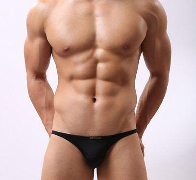 Slip Soie Sexy Homme Underwear Thong Man Men Uomo String