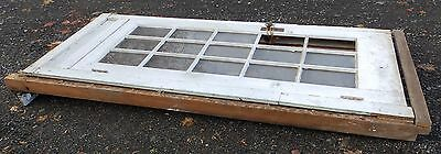 Antique Entry Way French Door With Surround Gingerbread Pediment Old 3903-14 10