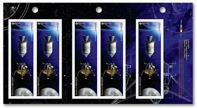 2019 Canada 📭 🚀APOLLO 11 🚀50 Years MOON🌘 LANDING - PAIR of MNH Stamps 📬 3