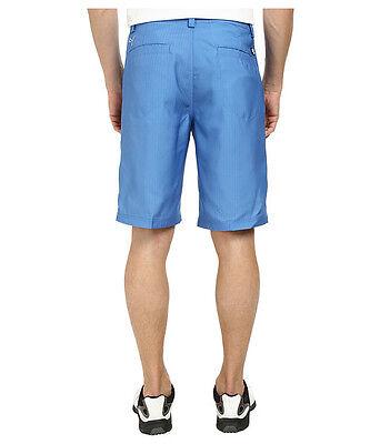 ae37350c6aa7 2 of 6 PUMA GOLF MONOLITE mens shorts FLAT FRONT 568324 04 strong blue 2964