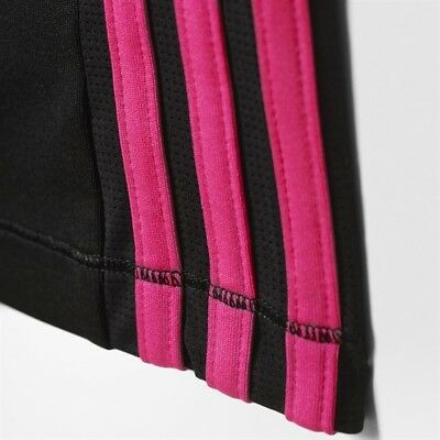 Adidas  Baby Infants Girls Tracksuit Bottoms Trackie Pants Black BNWT 2-3 Years 4